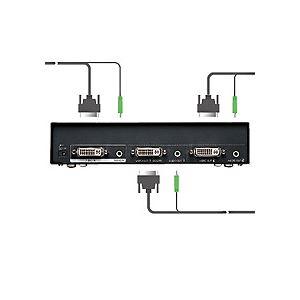 フルHD対応DVIディスプレイ分配器(2分配)【ポイント10倍】