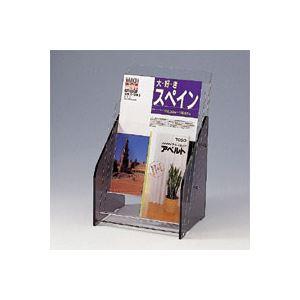 クラウン パンフレット台 アクリル製 CR-PF133-T 1台【ポイント10倍】
