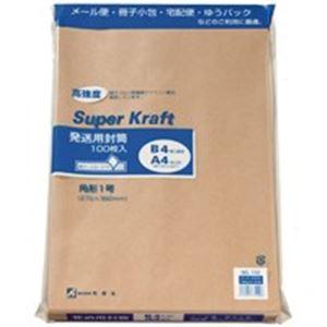 (業務用20セット) 高春堂 スーパークラフト封筒 角1 100枚 732 ×20セット【ポイント10倍】