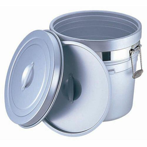 オオイ金属 アルマイト 段付二重食缶 (大量用) 250-S (36l) ASYA002 【ポイント10倍】