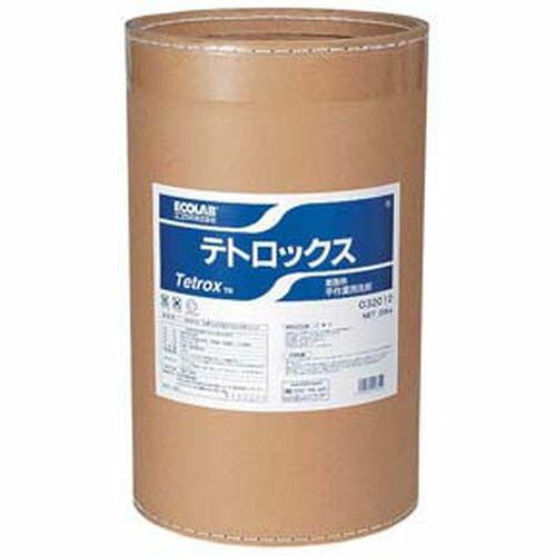 エコラボ ビアグラス・ジョッキ用洗浄剤テトロックス 20Kg JSV9602 【ポイント10倍】