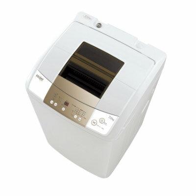 ハイアール 7.0kg全自動洗濯機 JW-K70M-W(代引不可)【ポイント10倍】【送料無料】【smtb-f】