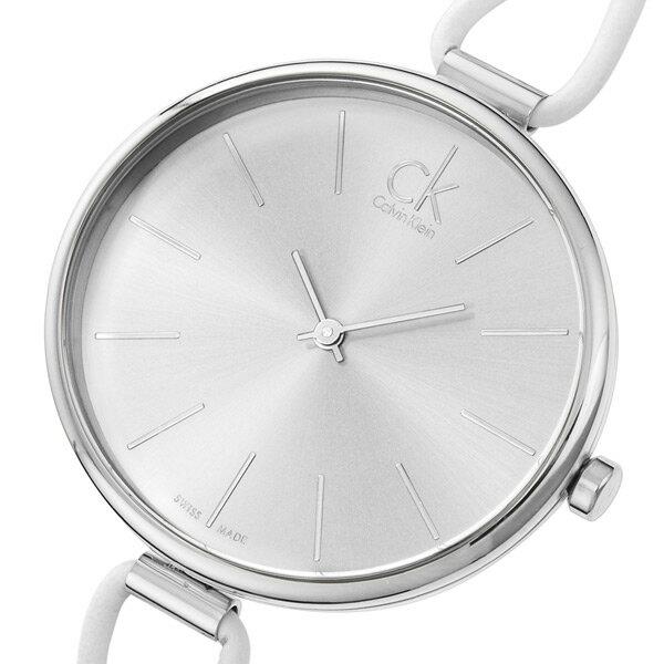 カルバン クライン セレクション クオーツ レディース 腕時計 時計 K3V231L6 シルバー【ポイント10倍】【楽ギフ_包装】
