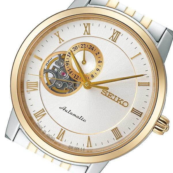 セイコー SEIKO プレザージュ 自動巻き メンズ 腕時計 SARY064 ホワイト 国内正規【送料無料】【ポイント10倍】【楽ギフ_包装】