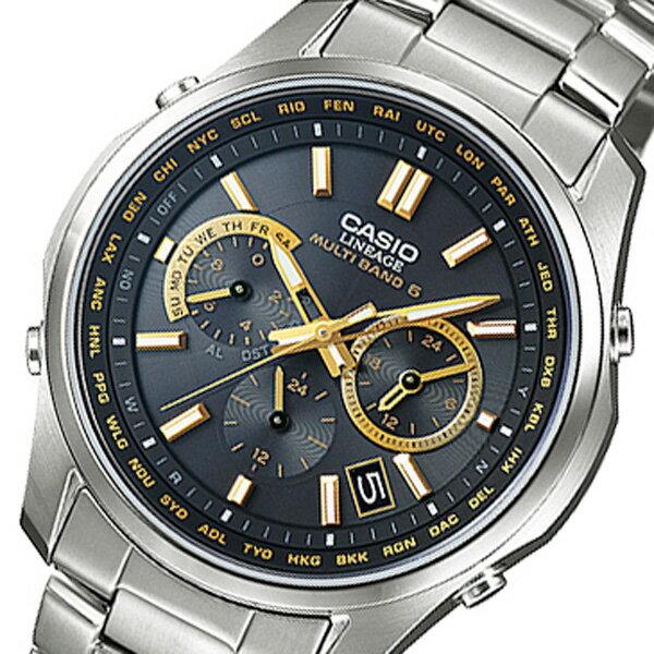 カシオ リニエージ 電波 ソーラー 腕時計 時計 LIW-M610TDS-1A2JF ブラック 国内正規【ポイント10倍】【楽ギフ_包装】