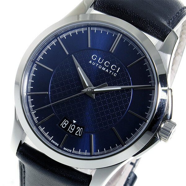 人気のあるアウトレット グッチ GUCCI Gタイムレス 自動巻き メンズ 腕時計 YA126443 ブルー【送料無料】【ポイント10倍】【楽ギフ_包装】