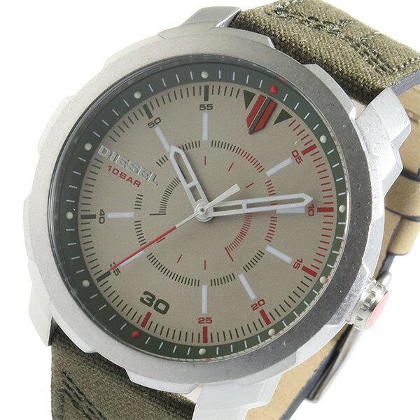 ディーゼル DIESEL マシナス クオーツ メンズ 腕時計 時計 DZ1735 ベージュ【ポイント10倍】【楽ギフ_包装】
