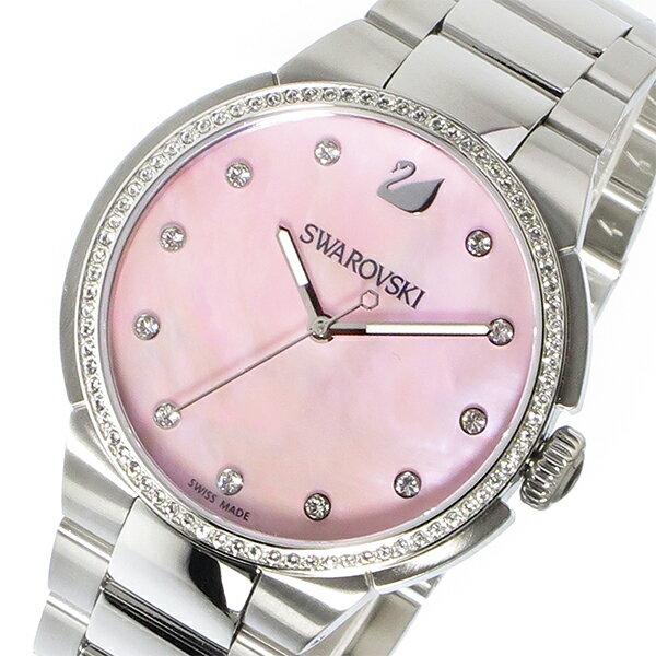 スワロフスキー SWAROVSKI シティ クオーツ レディース 腕時計 時計 5205993 ピンクシェル 【ポイント10倍】【楽ギフ_包装】
