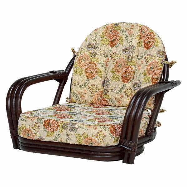 萩原 回転座椅子(ダークブラウン) RZ-931DBR 4934257231794 【代引き不可】【ポイント10倍】