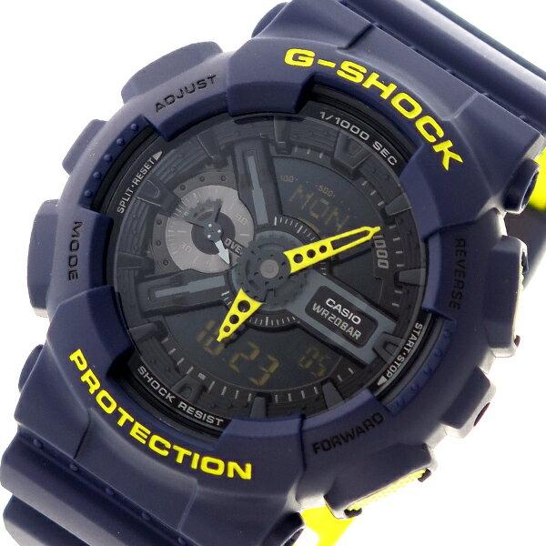 カシオ CASIO Gショック G-SHOCK クオーツ メンズ 腕時計 時計 GA-110LN-2A ブラック【ポイント10倍】【楽ギフ_包装】
