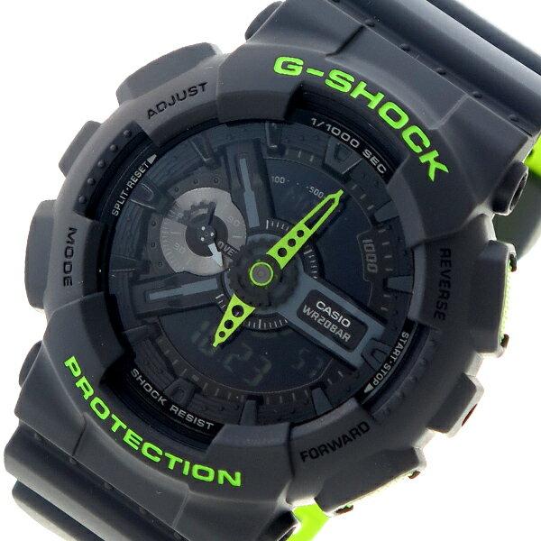 カシオ CASIO Gショック G-SHOCK クオーツ メンズ 腕時計 時計 GA-110LN-8A ブラック【ポイント10倍】【楽ギフ_包装】