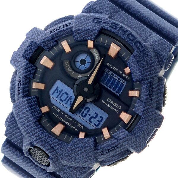 カシオ CASIO Gショック G-SHOCK クオーツ メンズ 腕時計 時計 GA-700DE-2A ブラック【ポイント10倍】【楽ギフ_包装】