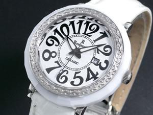 ロマネッティ ROMANETTE 腕時計 セラミックベゼル RE-3522L-3【楽ギフ_包装】【ポイント10倍】