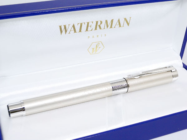 WATERMAN ウォーターマン パーステクティブ 万年筆 デコ・シャンパン F(細字)【楽ギフ_包装】H2【ポイント10倍】