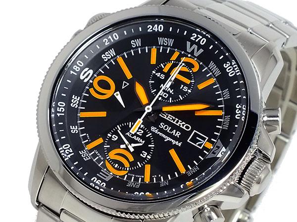 セイコー SEIKO SOLAR クロノグラフ 腕時計 時計 SSC077P1【ラッピング無料】【楽ギフ_包装】【ポイント10倍】