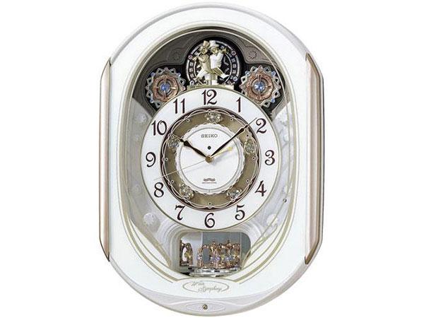 セイコー SEIKO からくり時計 電波時計 掛け時計 RE565HH2【ポイント10倍】