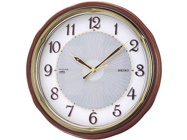 セイコー SEIKO 電波時計 ソーラープラス 掛け時計 SF221BH2【ポイント10倍】
