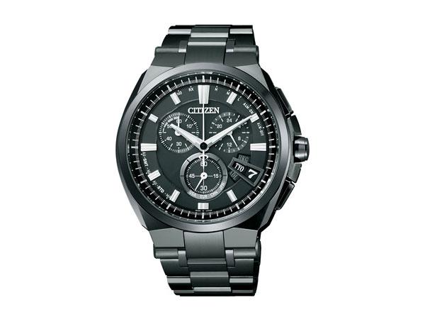 シチズン CITIZEN アテッサ クロノ エコ ドライブ 電波時計 メンズ 腕時計 BY0044-77E 国内正規【楽ギフ_包装】【送料無料】【ポイント10倍】