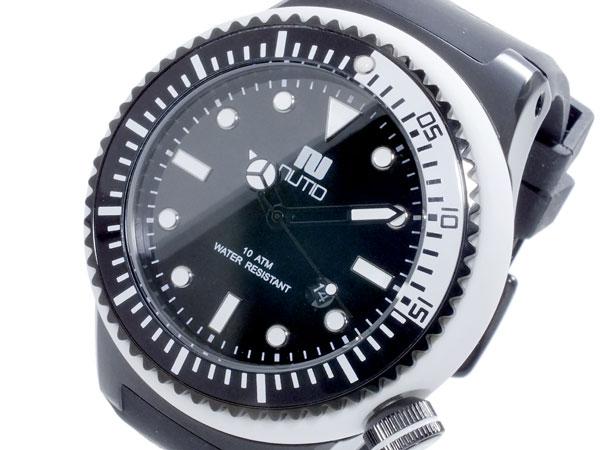 ヌーティッド NUTID SCUBA PRO クオーツ メンズ 腕時計 時計 N-1401M-A WH【楽ギフ_包装】【ポイント10倍】