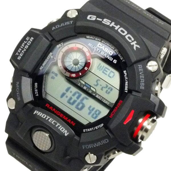 カシオ CASIO Gショック レンジマン 電波 ソーラー メンズ 腕時計 時計 GW-9400-1【楽ギフ_包装】【ポイント10倍】