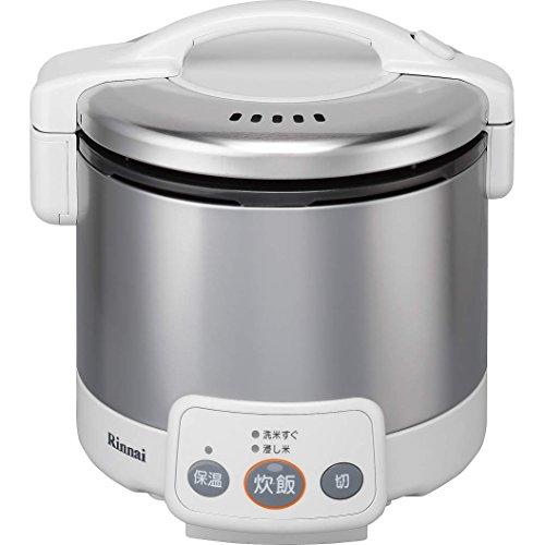 リンナイ ガス炊飯器 こがまる RR-030VM(W) 13A 【都市ガス】 3合炊き(代引不可)【ポイント10倍】【送料無料】【smtb-f】