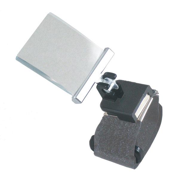 【TSK】指用ルーペ 倍率2.5倍 レンズ径27×32mm マジックテープバンド 日本製 RX-7B /20点入り(代引き不可)【ポイント10倍】