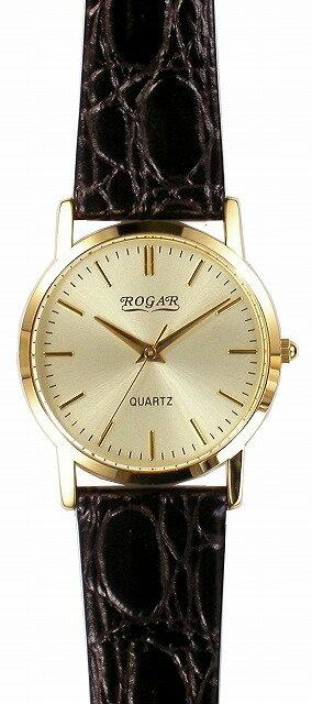 【ROGAR】ローガル メンズ腕時計 RO-060MA-B5 日常生活用防水(日本製) /10点入り(代引き不可)【ポイント10倍】