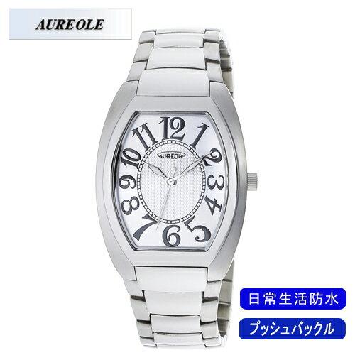 【AUREOLE】オレオール メンズ腕時計 SW-488M-3 アナログ表示 日常生活用防水 /10点入り(代引き不可)【ポイント10倍】