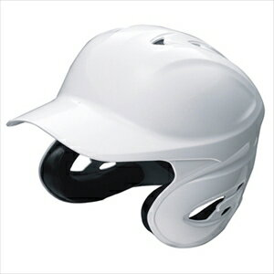 SSK 野球 硬式 用両耳付きヘルメット ホワイト(10) Mサイズ H8000【ポイント10倍】