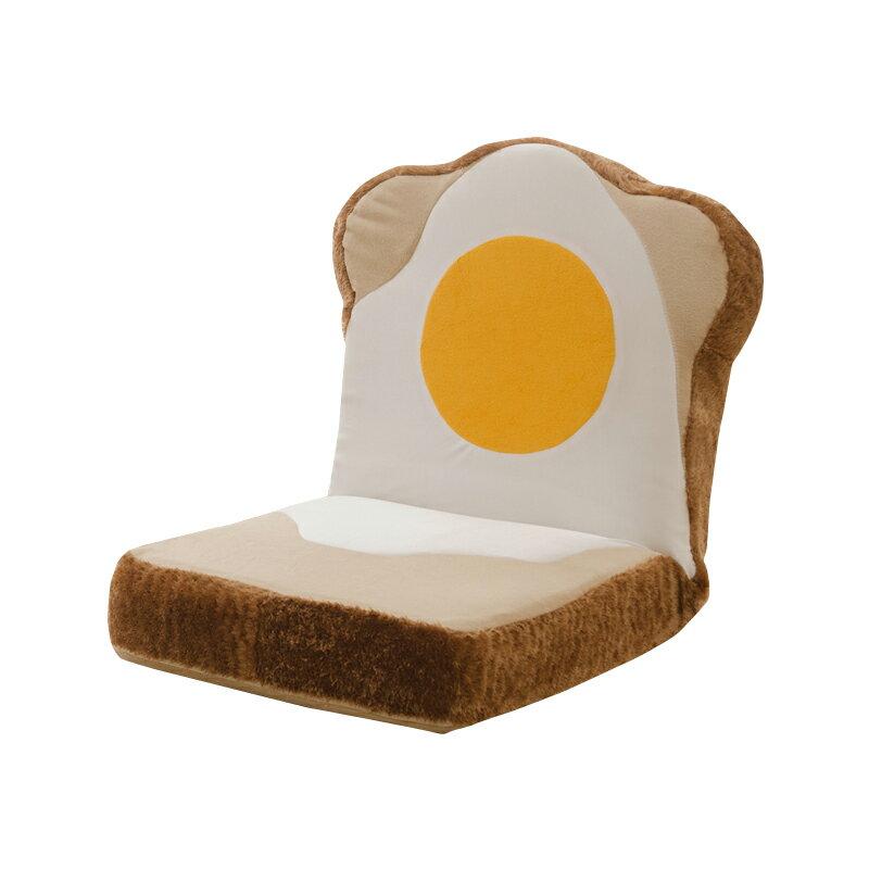 カバーリング めだまやき食パン 座椅子(代引不可)【ポイント10倍】【送料無料】【smtb-f】