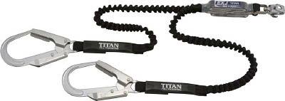 タイタン EXJハーネス用ランヤード ダブル ブラック/ブラック DJMRSATW24APEXBL【ポイント10倍】