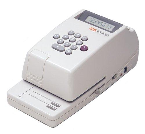 マックス 電子チェックライター EC-310C【ポイント10倍】