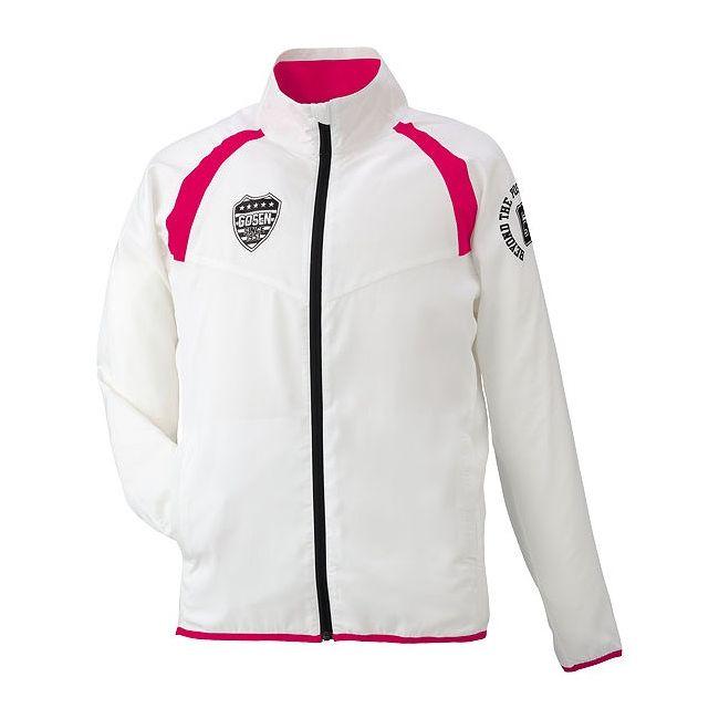 高い評判 GOSEN(ゴーセン) ライトウィンドジャケット UY1500 【カラー】ホワイト 【サイズ】XL【ポイント10倍】