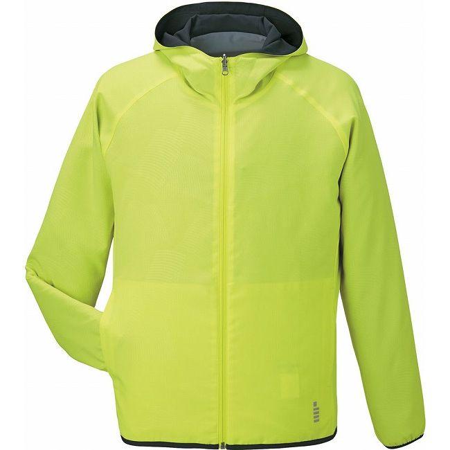 【防水】 GOSEN(ゴーセン) Y1606 リバーシブルジャケット Y1606 【カラー】ネオンイエロー 【サイズ】LL【ポイント10倍】