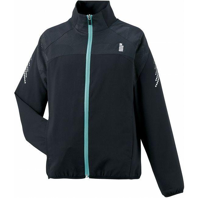 大放出 GOSEN(ゴーセン) Y1601レディースライトウィンドジャケット Y1601 【カラー】ブラック 【サイズ】LL【ポイント10倍】
