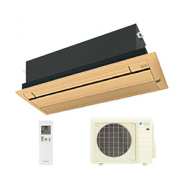 ダイキン ハウジングエアコン 天井カセット形シングルフロー 12畳程度 S36RCV ブラウンパネル BC40J-T 【業務用】(代引不可)【送料無料】【smtb-f】