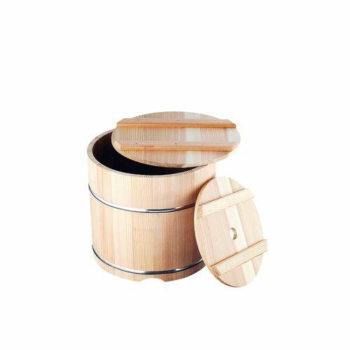 めいじ屋 杉製 漬物樽(ステンレスタガ) 11L ATK7402