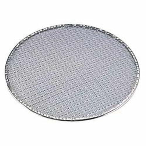 丸十金網 亜鉛引使い捨て丸焼網(200枚入) 24cm QTK2424