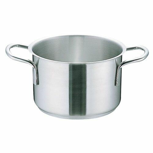 ムラノ インダクション18-8半寸胴鍋 (蓋無)32cm AHVA305