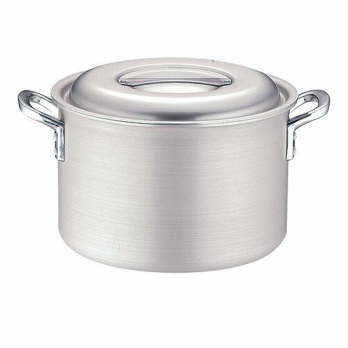 TKG IHアルミ 半寸胴鍋(目盛付) 27cm AHVF502