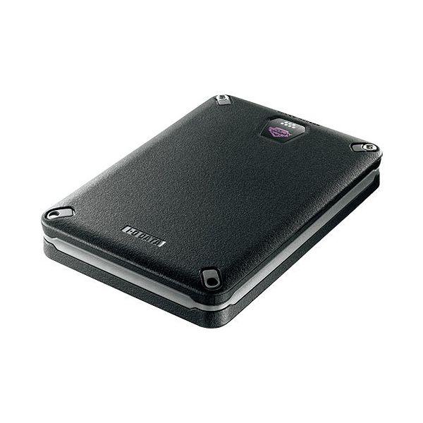 アイ・オー・データ ハードウェア暗号化&パスワードロック対応耐衝撃ポータブルHDD 500GB HDPD-SUTB500