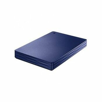 アイ・オー・データ USB 3.0/2.0対応ポータブルハードディスク「カクうす Lite」 1TBミレニアム群青 HDPH-UT1NV