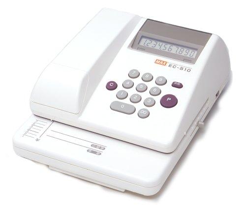 マックス 電子チェックライター EC-510