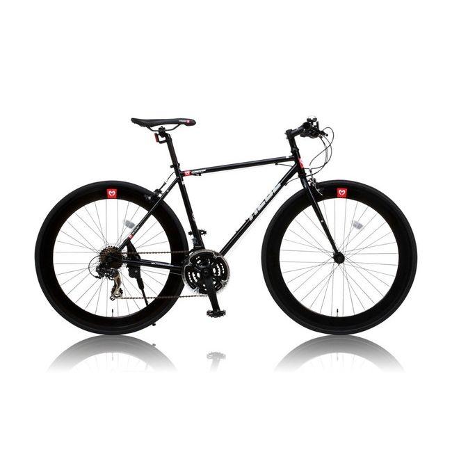 CANOVERR カノーバ― クロスバイク CAC-024 HEBE ブラック(代引不可)【送料無料】