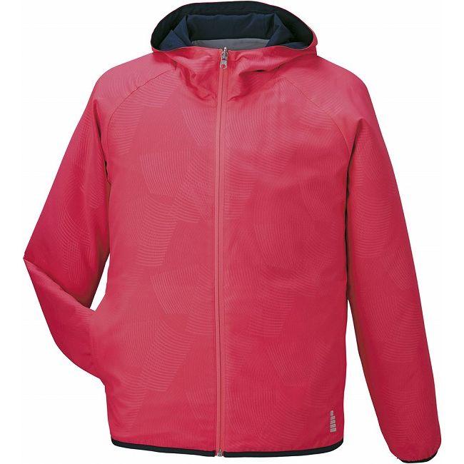 1年保証付 即日発送 GOSEN(ゴーセン) Y1606 リバーシブルジャケット Y1606 【カラー】コーラルレッド 【サイズ】L