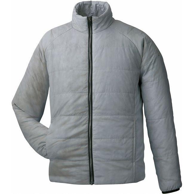 人気良品 GOSEN(ゴーセン) アイダーウォームスジャケット Y1612 【カラー】ライトグレー 【サイズ】S【送料無料】