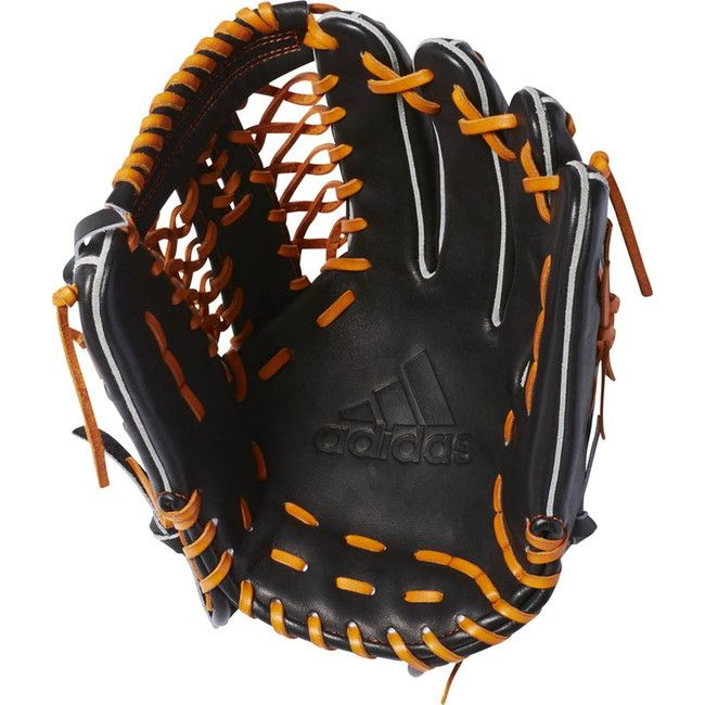adidas(アディダス) adidas Baseball 硬式グラブ adidas BB 外野手用 DMT62 【カラー】ブラック×クラフトオークル 【サイズ】RH【送料無料】【smtb-f】