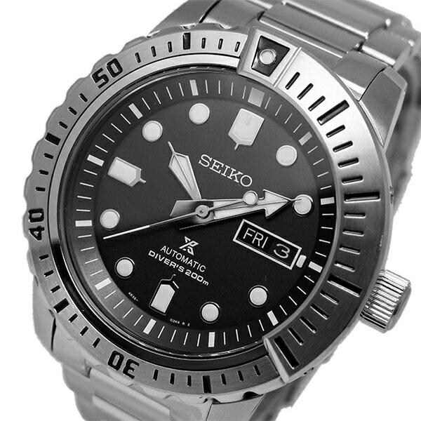 セイコー SEIKO プロスペックス 自動巻き メンズ 腕時計 SRP585K ブラック【送料無料】【楽ギフ_包装】