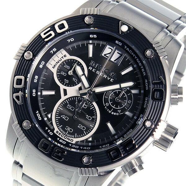 インヴィクタ INVICTA クオーツ クロノ メンズ 腕時計 10589 ブラック【送料無料】【楽ギフ_包装】