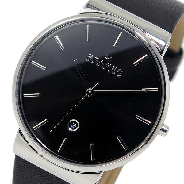 スカーゲン SKAGEN クオーツ メンズ 腕時計 SKW6104 ブラック【送料無料】【楽ギフ_包装】